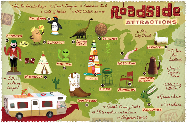 Roadside Attractions Map Roadside Attractions Map | .flickr.com/photo_zoom.gne?id=… | Flickr