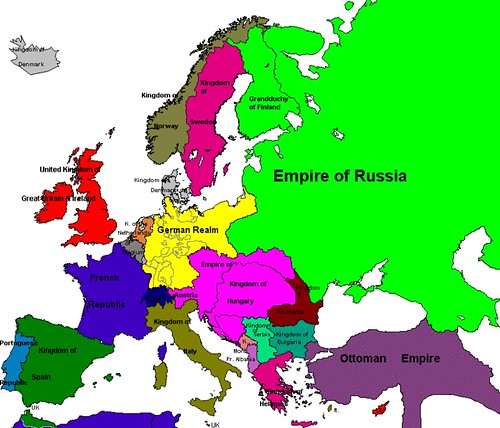 Europe map, 1914 | Map of Europe in 1914 | Loki Fuego | Flickr