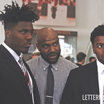 Tyreke Smith Ryan Stamper and Taron Vincent by Birm:Lettermen Row