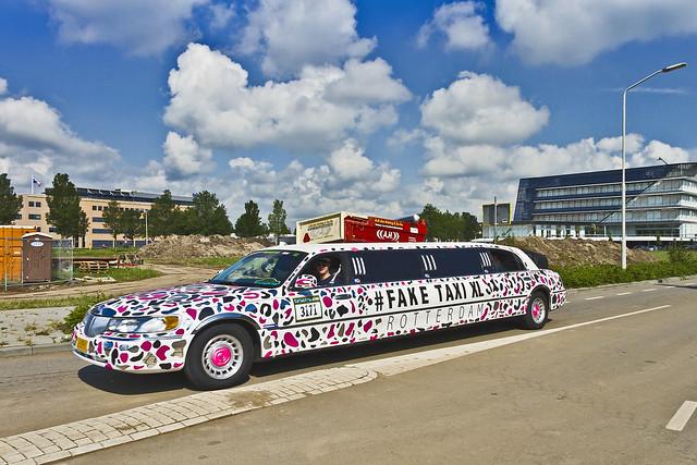 Lincoln Town Car MPV 'Fake Taxi XL' 1998 (7847)
