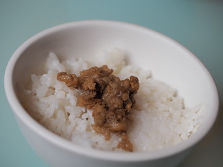 Minced Pork Sauce with rice (肉燥飯) | by huislaw
