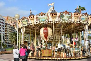Carousel in Alicante