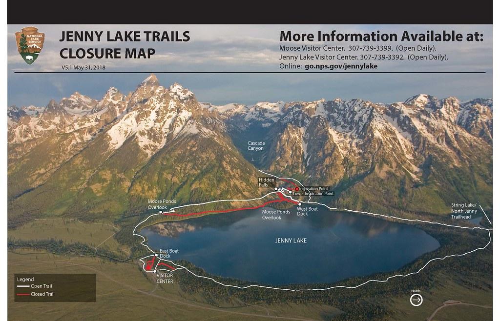 """Résultat de recherche d'images pour """"jenny lake trail"""""""