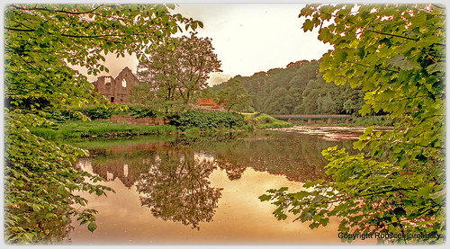 finchale priory rivers sunset durham robscenicimagery
