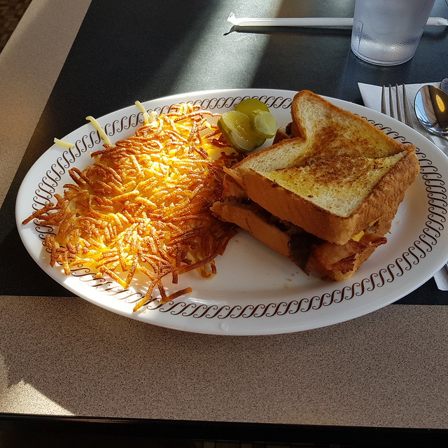 Wed, 05/30/2018 - 18:22 - 930 calories of stick to your ribs Texas Cheese Steak melt