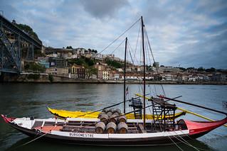 Boat on the Duoro River in Porto | by nan palmero