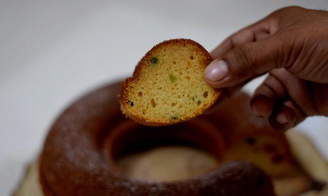 Eggless Semolina Cake Texture