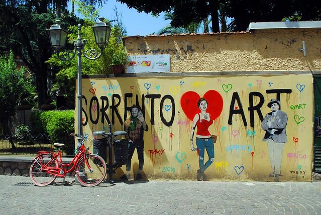 Sorrento loves art