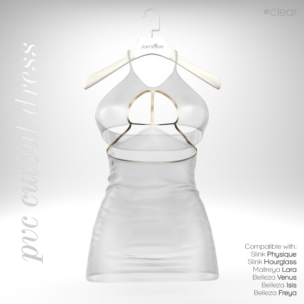 JamBee > Clothes > PVC cutout dress | maps secondlife com/se… | Flickr