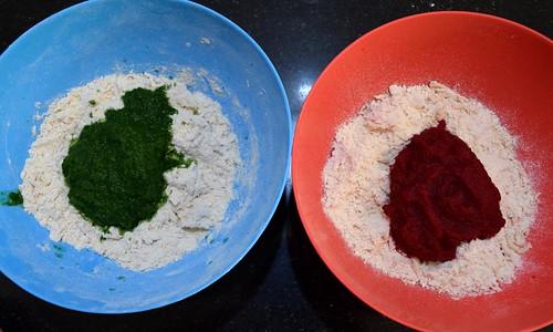 Dough kneading