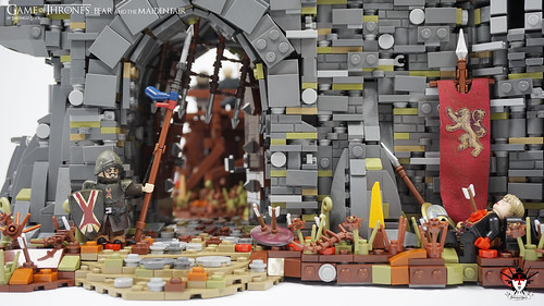 Lego Game of Thrones - Bear and the Maiden Fair - by Barthezz Brick 20