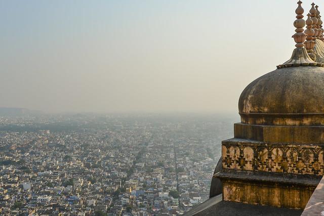 Aerial view of Jodhpur, India