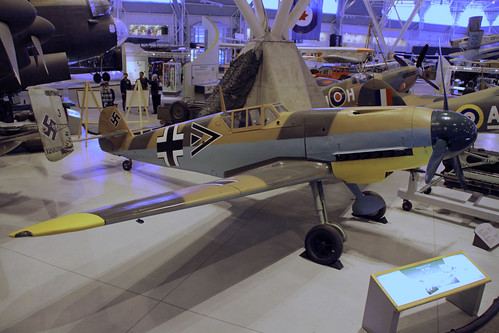 Messerschmitt Bf-109 at the CASM, Ottawa