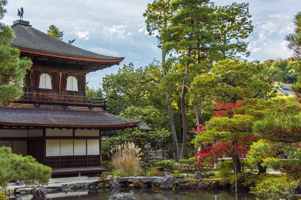 Ginkakuji Temple 銀閣寺