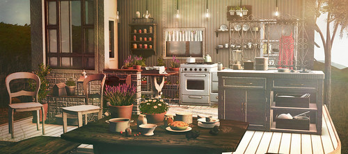 Garden kitchen | by kawaiilian.resident