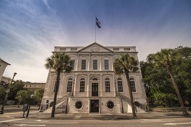 Charleston City Hall built 1801 - Charleston (South Carolina)
