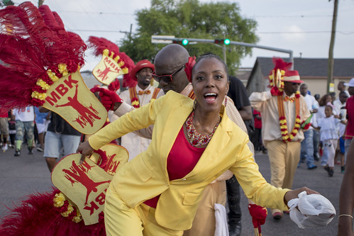 MBK second line. Photo by Jamell Tate.
