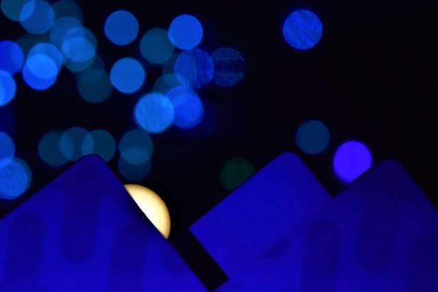 Blue on blue  --  Transit cards    -