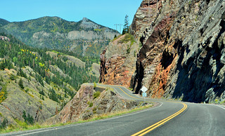 On Highway 550 in Colorado | by M McBey