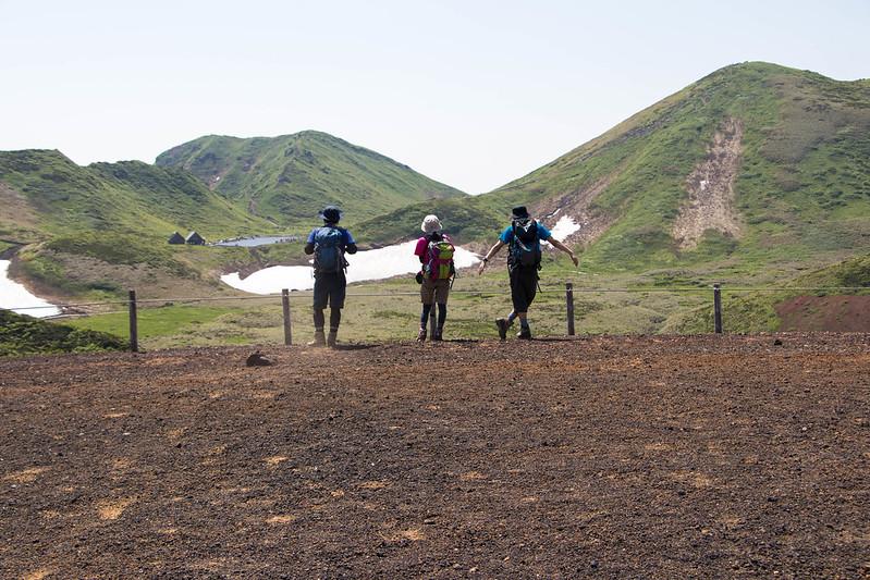 秋田駒ヶ岳の集合写真