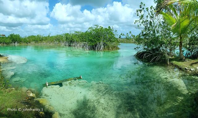 Laguna di Bacalar-Messico