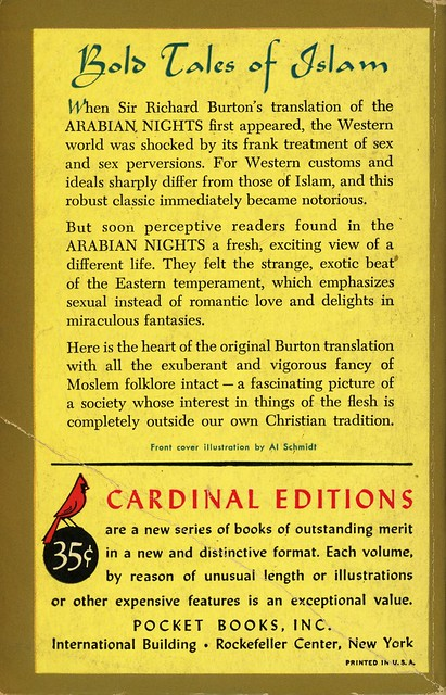 Cardinal Books C -17- P.H. Newby - Tales from the Arabian Nights (back)