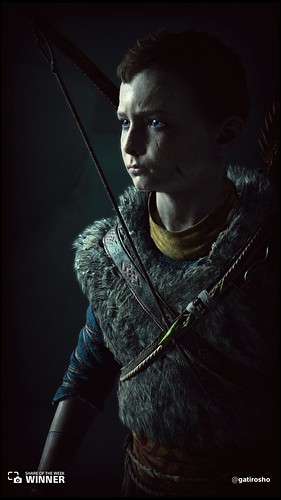 Share of the Week: God of War - Atreus | by PlayStation.Blog