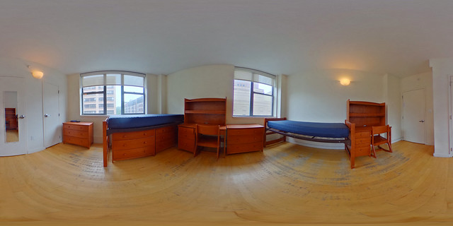Cathedral Gardens Double Room (click for 360 view)
