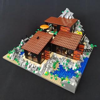 Lava House MOC IV | by betweenbrickwalls