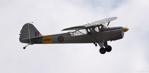 Taylorcraft Auster AOP.V (TW501) G-ALBJ Upottery Airfield 2018 | by SupaSmokey