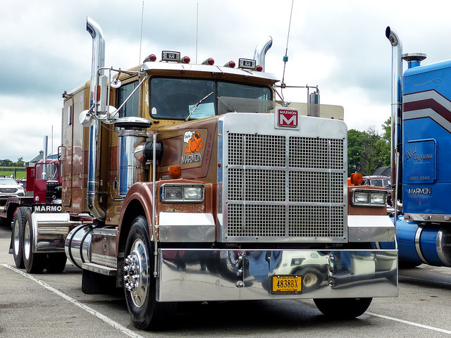 Cat Powered Marmon P-57 Conventional Semi Tractor