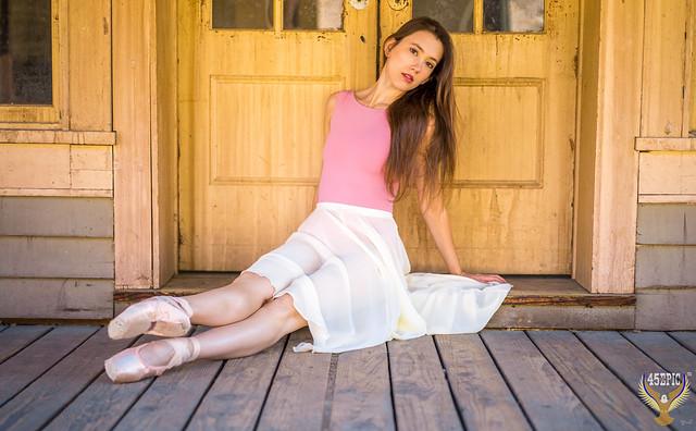 Fine Art Ballet Photography! Pretty Ballerina Portraits! Dancing Classical Ballet in Pointe Shoes! Golden Ratio Ballet Dancer Photography! Graceful Portrait Photography of Professional Ballerina!  Leotard & Tutu! Carl Zeiss 55mm f/1.8 ZA Lens & A7 R!