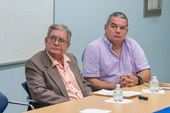 """Conferencia """"Metáfora y esquizofrenia en la poesía cubana"""" por Rolando Morelli"""
