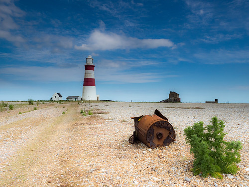 Orford Ness Lighthouse | by davepickettphotographer