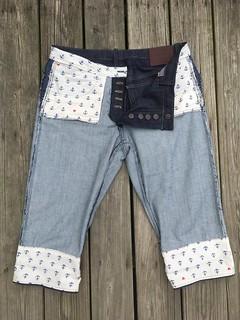Knee-Length Morgan Boyfriend Jeans, or: Making Jeans Without Enough Denim   by patternandbranch