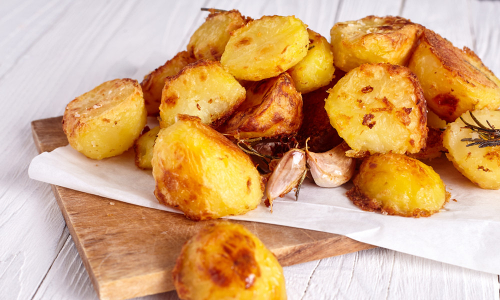 Sous vide potatoes