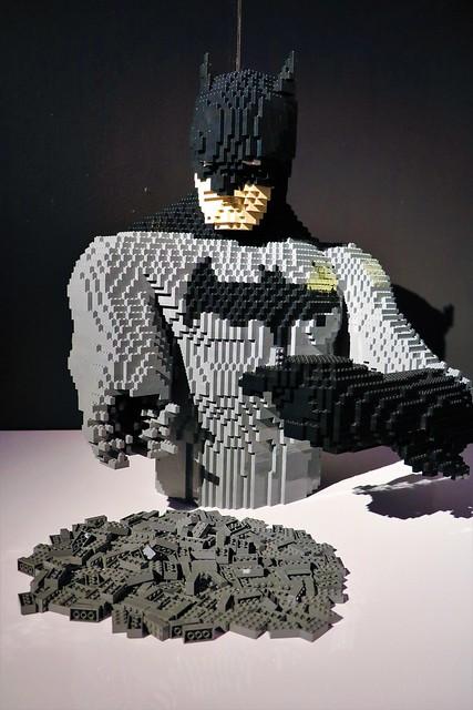 Exposition Lego - comics