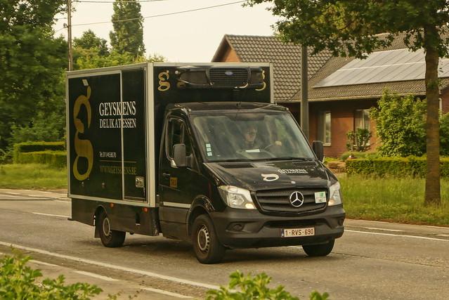 Mercedes-Benz Sprinter E6 2016 - Geyskens Delikatessen NV Beringen, België