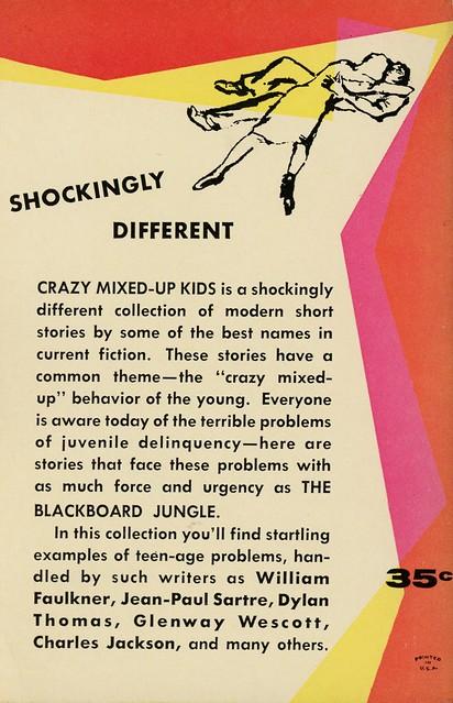 Berkley Books G-12 - William Hodapp - Crazy Mixed-Up Kids (back)