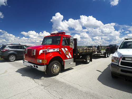 fire rescue truck daytonairshow