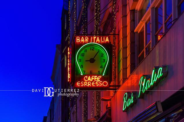 Bar Italia - Soho, London, UK