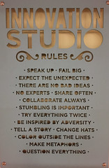 Innovation Studio rules