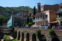 Tbilisi - Old town - sulphur baths