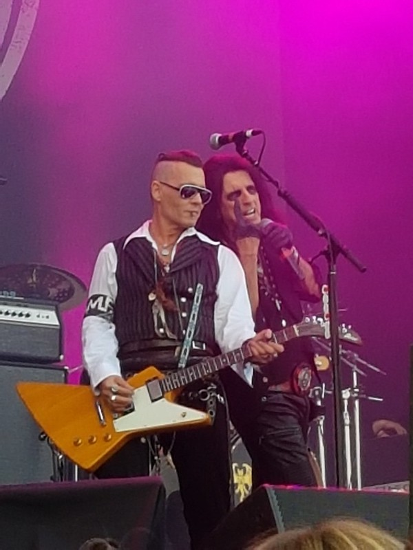 Hollywood Vampires Kaisaniemi 10.6.2018