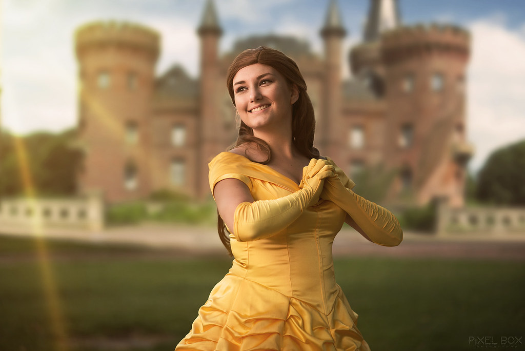 Belle From Beauty And The Beast Photoshoot Model Wwwi Flickr