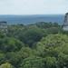 Tikal, pohled z chrámu IV směrem na Great Plaza a pyramidy I, II a III, foto: Petr Nejedlý