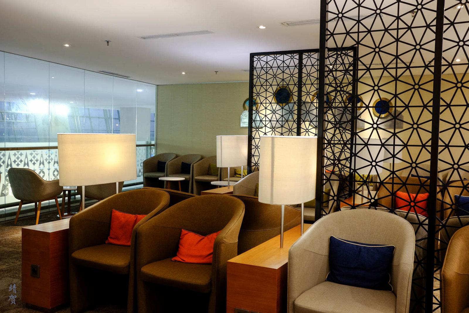 Main lounge space