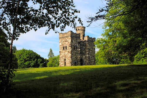 bancroft tower castle landscape bancrofttower worcester massachusetts sunny salisbury park salisburypark georgebancroft davelawler chancyrendezvous blurgasm lawler
