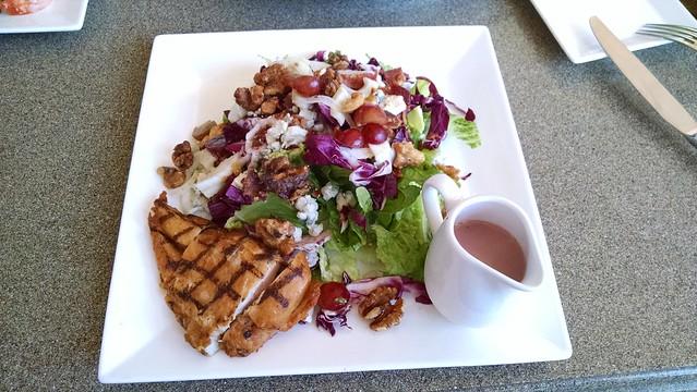 IMG_20160617_134615622 Fess Parker Vineyard salad w chicken