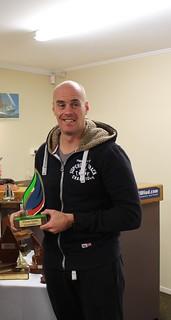 Rob Croft - Winner of the Winter Series Intermediate trophy | by PLSC (Panmure Lagoon Sailing Club)